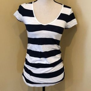 Old Navy striped maternity tee